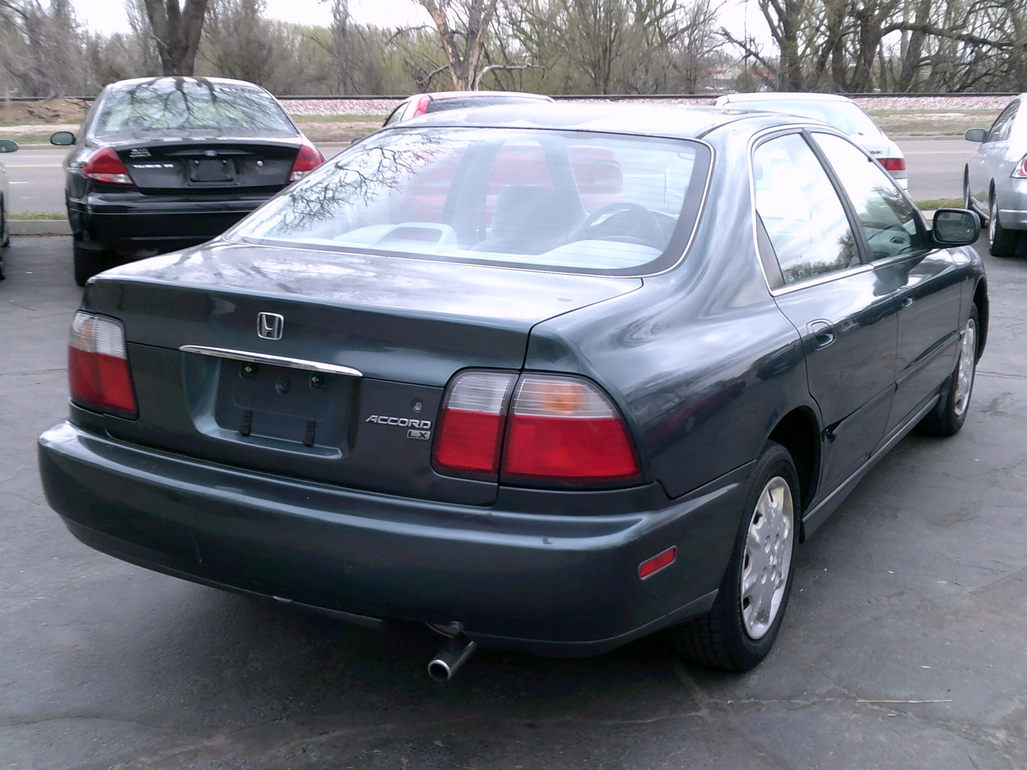 96 Accord Lx Rear View Mr Auto