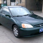 01 Civic EX Front View