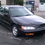 97 Accord Passenger Front View