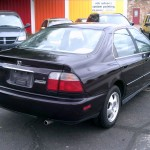 97 Accord Rear View