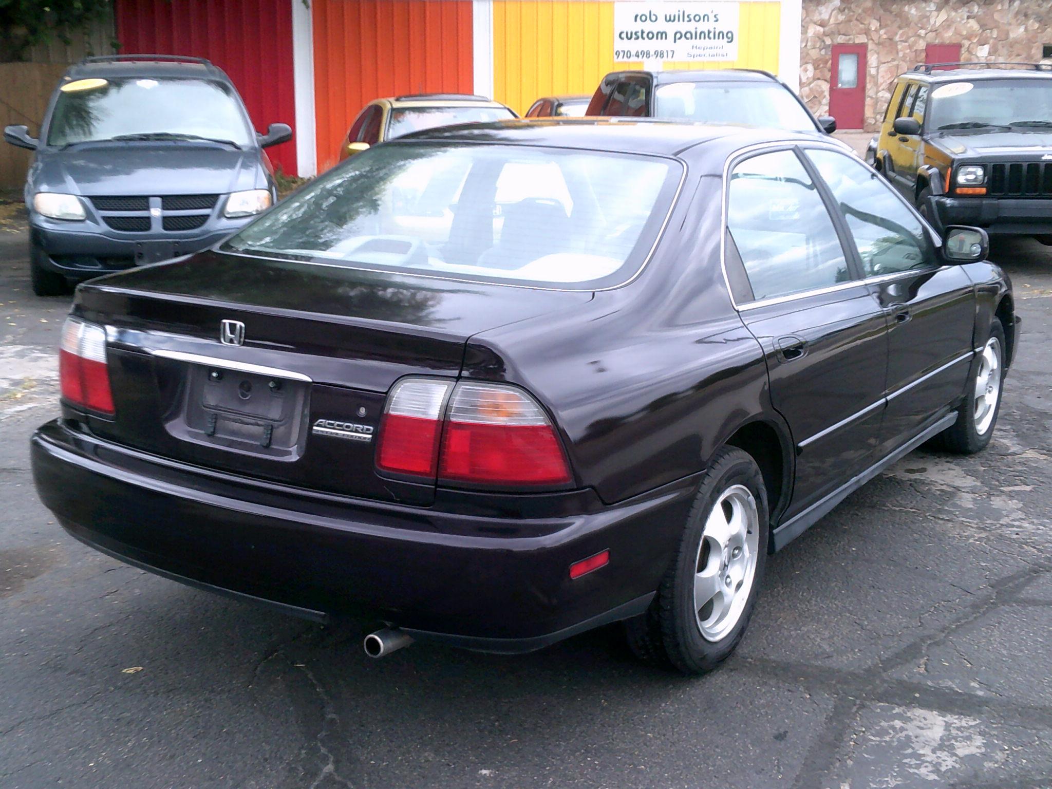 97 Accord Rear View Mr Auto