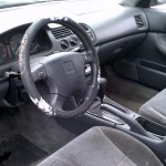 97 Accord Interior View