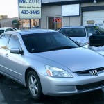 05 Accord Passenger Front View
