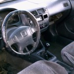 98 Civic Interior View