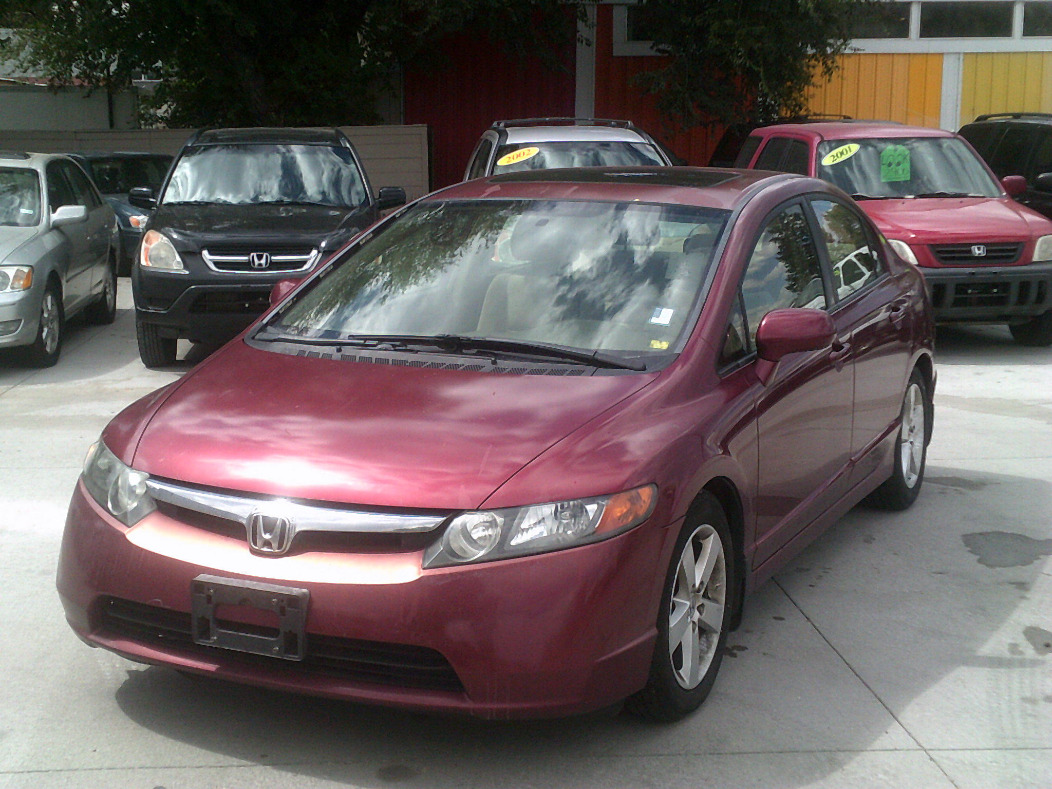 This Civic Gets 25 Miles Per Gallon In The City And 36 Mpg On Highway 138k Automatic Ac Sunroof Cd Player